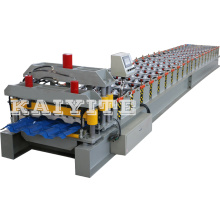 Wholesale Price for Colorful Steel Glazed Tile Roll Forming Machine Glazed Tile Roll Former Machinery export to Moldova Factories