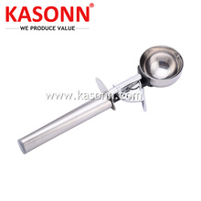 Customized for Steel Fruit Scooper Medium Stainless Steel Ice-cream Disher with Long Handle export to Sierra Leone Exporter