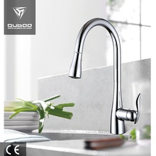 China for CUPC Faucet Long Neck Deck Mounted Pull Spray Kitchen Tap export to India Supplier