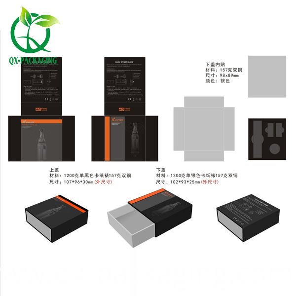 Electronic Paper Packaging Box