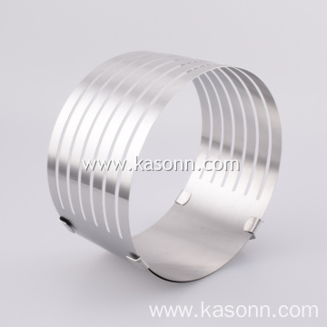 Adjustable Stainless Steel Cake Slicing Mold Ring