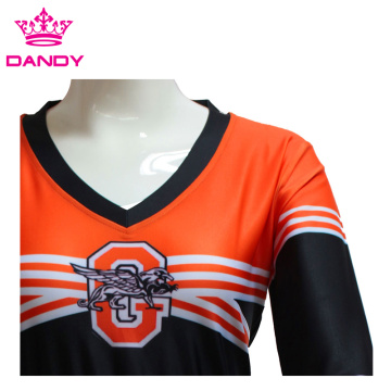 Custom Striped Sublimated Cheerleader Dress