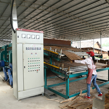 High-efficiency Roller Veneer Dryer
