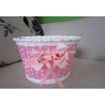 Plastic Kids Bicycle Basket