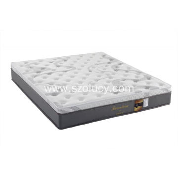 Natural latex spring mattress