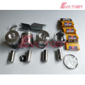 excavator 4TNV106T engine gasket bearing piston ring liner