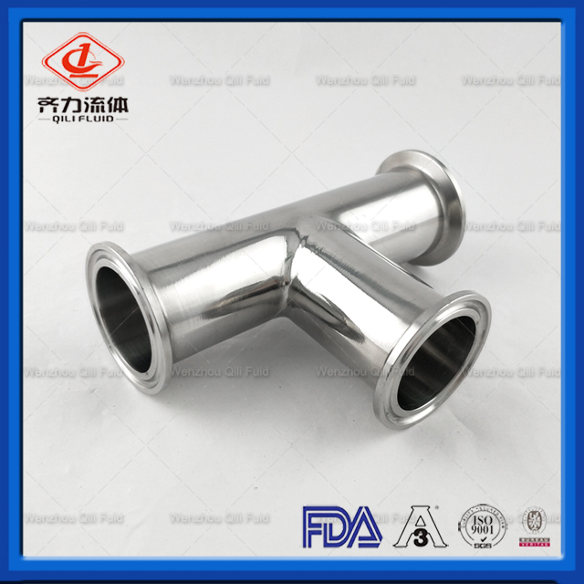 High Quality Food Garde Fittings Tee