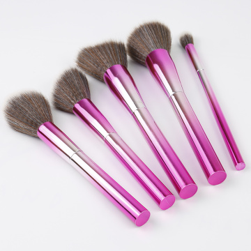 Rainbow Shiny Premium Makeup Brushes