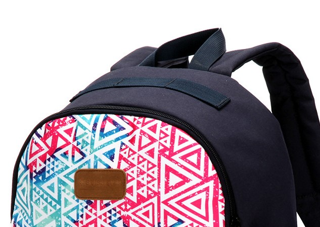Wear Resistant Suisswin Shoulder Backpack