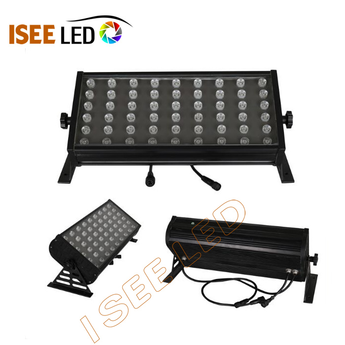 54W Dimmable Power RGB LED Flood Light