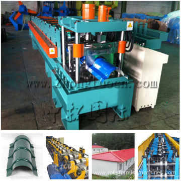 Galvanized Roof Ridge Cap Rool Forming Machine