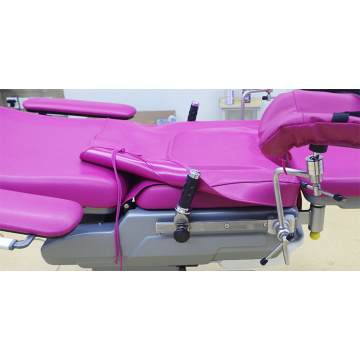Gynecological birth operating bed