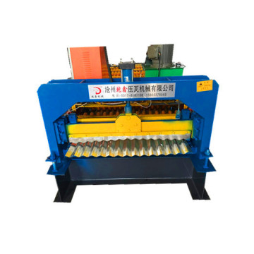 iron Corrugated sheet roll forming machine