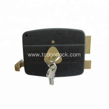 Safe and reliable brass rim lock gate lock