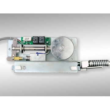 Door control systems automatic door integral lock