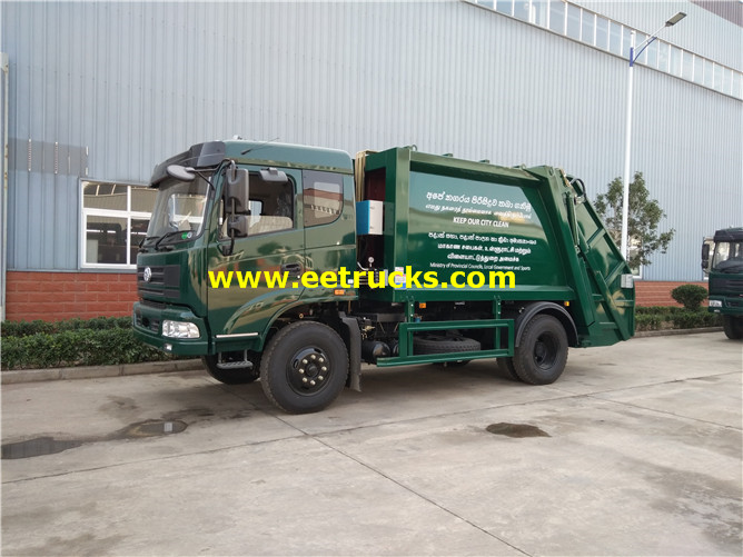 Refuse Compressed Truck