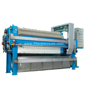 Chamber Membrane Filter Press With Automatic Drip Tray