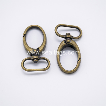 Wholesale Black Color Metal Spring Hook for Bags