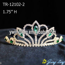 Cheap Green Pageant Crown Tiara