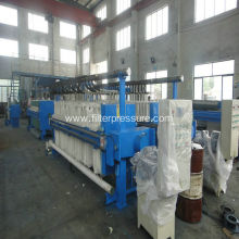 Polypropylene plate beet sugar filter press