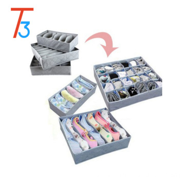 Underwear socks bamboo organization storage box
