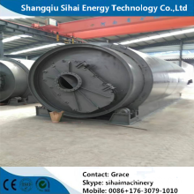 High Oil Yield Waste Tyre Pyrolysis Plant