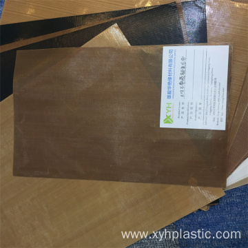 PTFE Teflon Coated Fiberglass Cloth for Food Machine