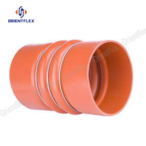Colorful oil resistant wire reinforced hump hose