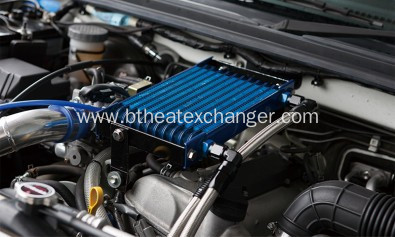 Automobile Engine Oil Cooler