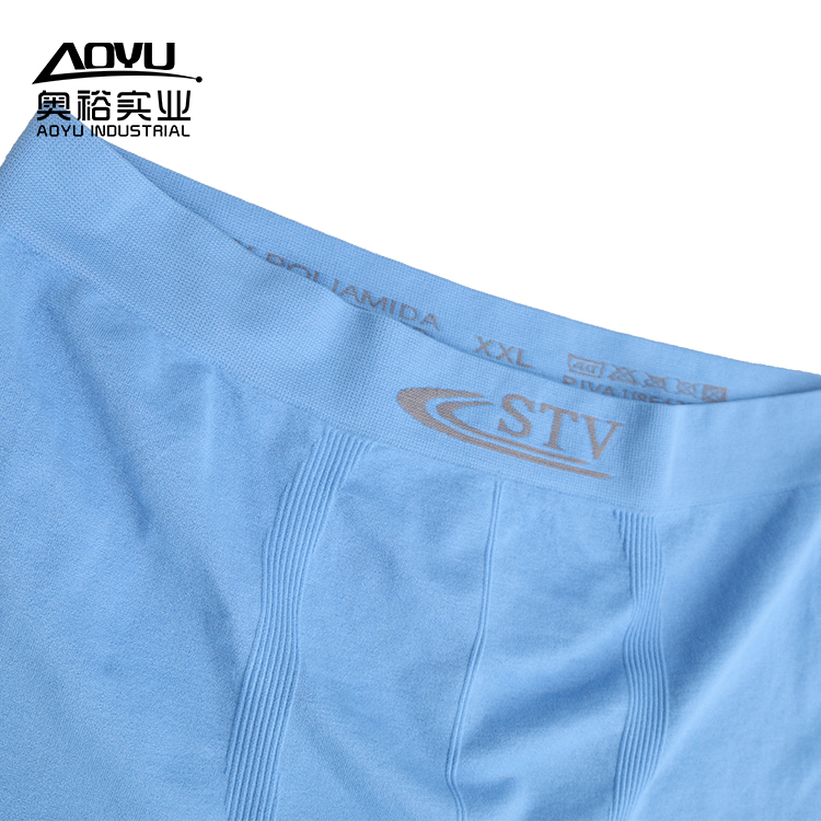 Shantou Factory Custom Men`s Boxer Underwear