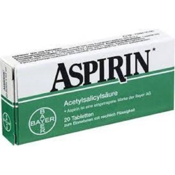 aspirin with   alcohol