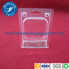 Clear Plastic Small Product Box Clamshell Packaging