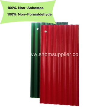 ECO-Friendly No-asbestos Anti-Heat MgO Wave Roof Sheets