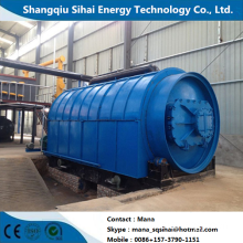 Engineer provided recycling machine for waste rubber