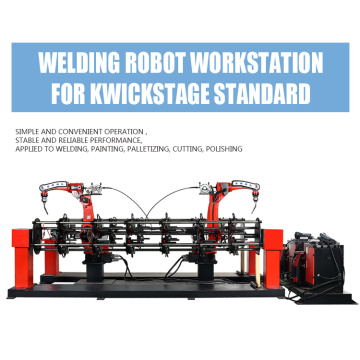 Robotic Workstation for Kwickstage Welding