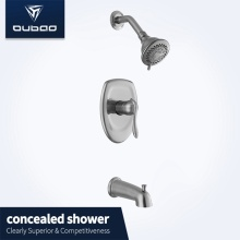 European Bathroom Concealed Wall Mount Shower Mixer Faucet