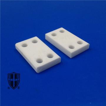 precision instrument mica glass ceramics cnc threaded