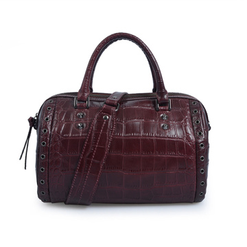 Bedford Legacy Medium Convertible Satchel Nappa Leather Bag