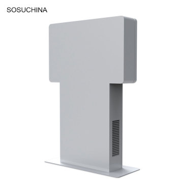 High Brightness floor stand display outdoor digital signage
