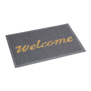 Entryways rectangle non slip  PVC coil doormat