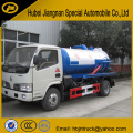 Dongfeng 4000 liters Vacuum Pump Suction Vehicle