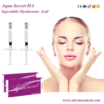 Cosmetic Injection Cross-linked Hyaluronic Acid Filler
