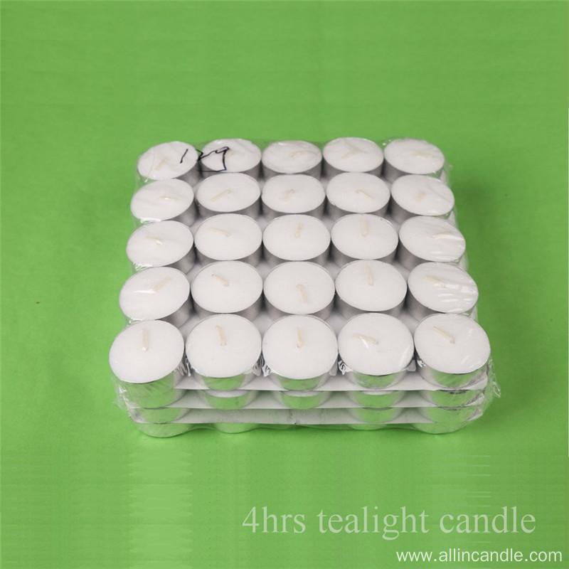 Wholesale long time burning tealight candle