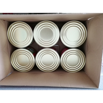 canned tomato paste (HACCP SGS HALAL approved)