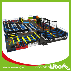 Professional Manufacturer for Indoor Trampoline Equipment CE Approved High Quality Big Commercial Kids Trampoline export to Saint Kitts and Nevis Manufacturer