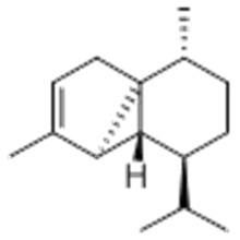 Bezeichnung: 1H-Cyclopenta [1,3] cyclopropa [1,2] benzol, 3a, 3b, 4,5,6,7-Hexahydro-3,7-dimethyl-4- (1-methylethyl) -, (57271428) 3aS, 3bR, 4S, 7R, 7aR) - CAS 17699-14-8