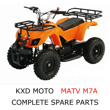 KXD Motor ATV M7A Parts Complete Scooter Parts