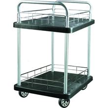 300kgs double layers Platform Hand Trolley(black)