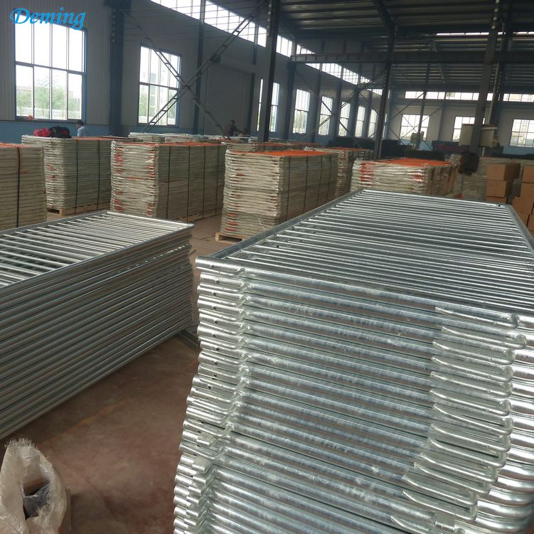 Factory Supply Galvanized Metal Crowd Control Barrier