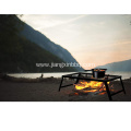 Portable Campfire Grill Stand With Folding Legs